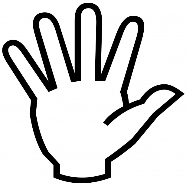 Healing clipart outstretched hand Panda Info Clipart Images Hand