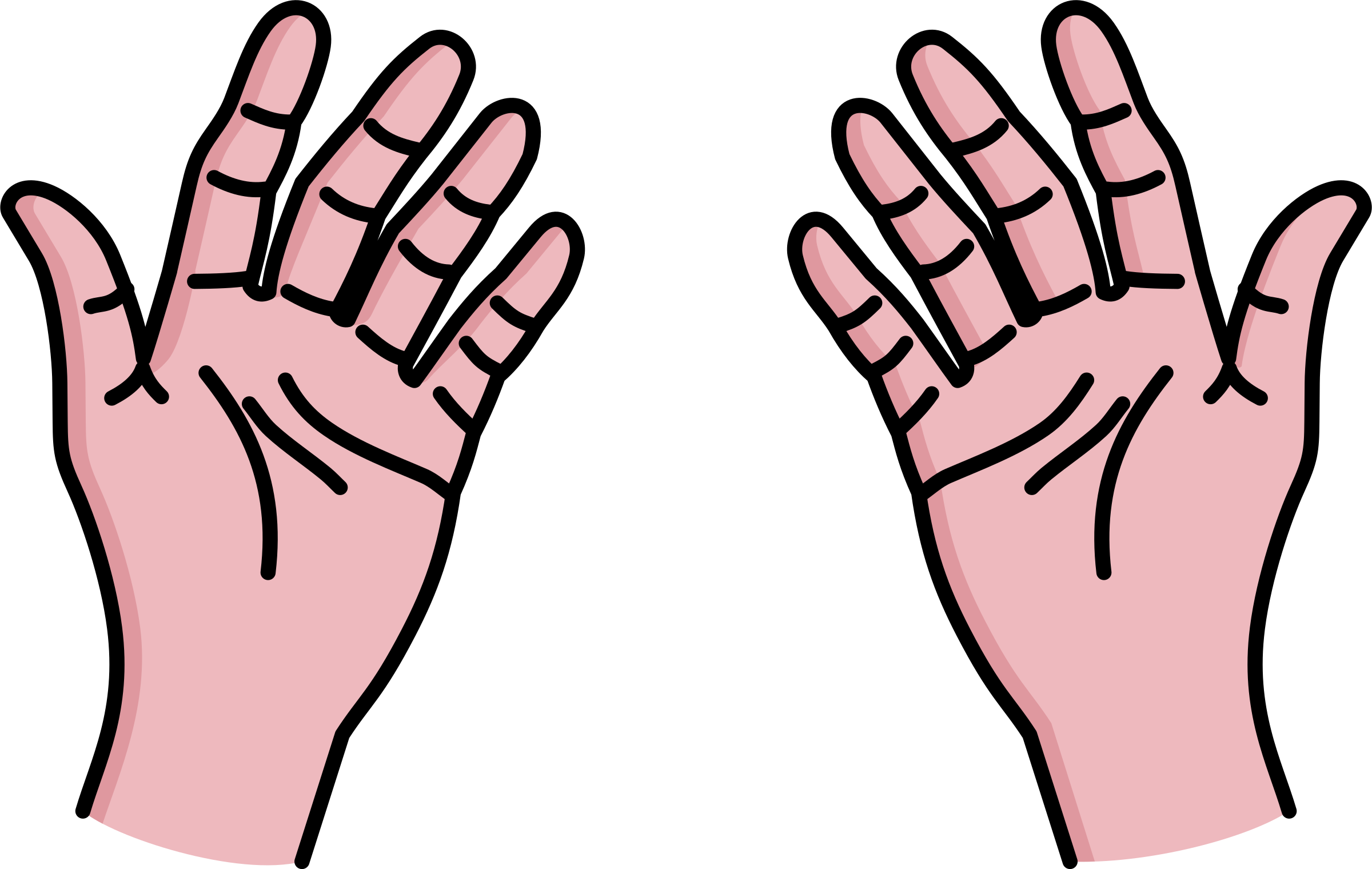 Hand Gesture clipart outstretched hand Hands Shaking Clipart of hands