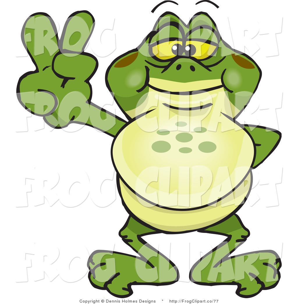 Hand Gesture clipart peace sign finger Gestures Bullfrog with and Fingers