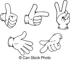 Hand Gesture clipart positive  positive 300 cartoon 94