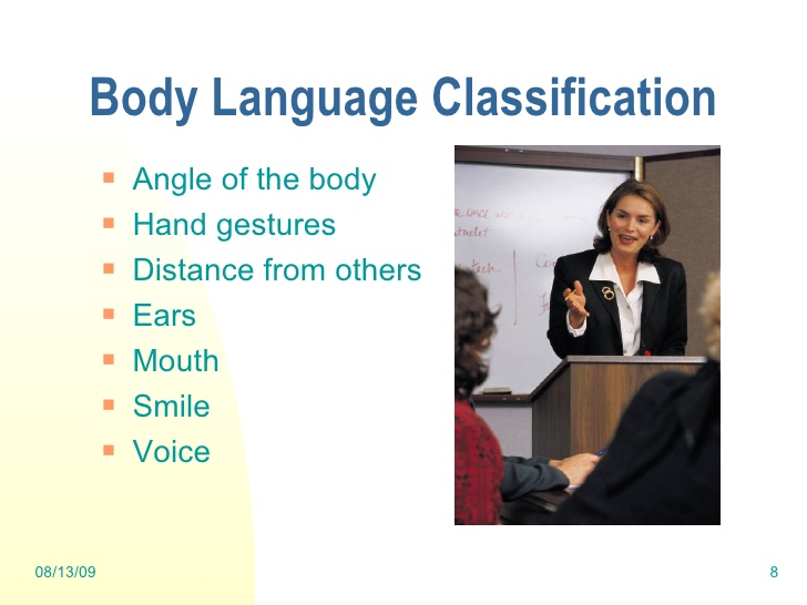 Body Language Presentation Skills