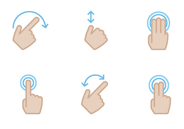 Hand Gesture clipart rare Kyle Adams Free Gesture Icons