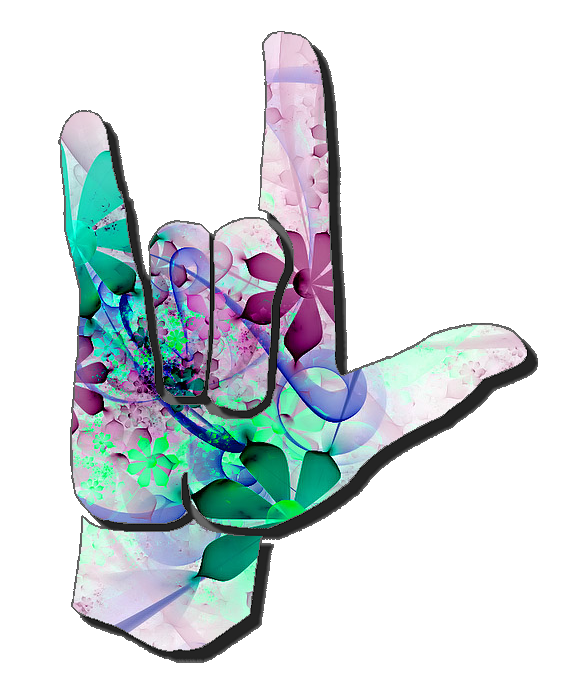 Hand Gesture clipart sign language i love you Art Clip 5 Love Art