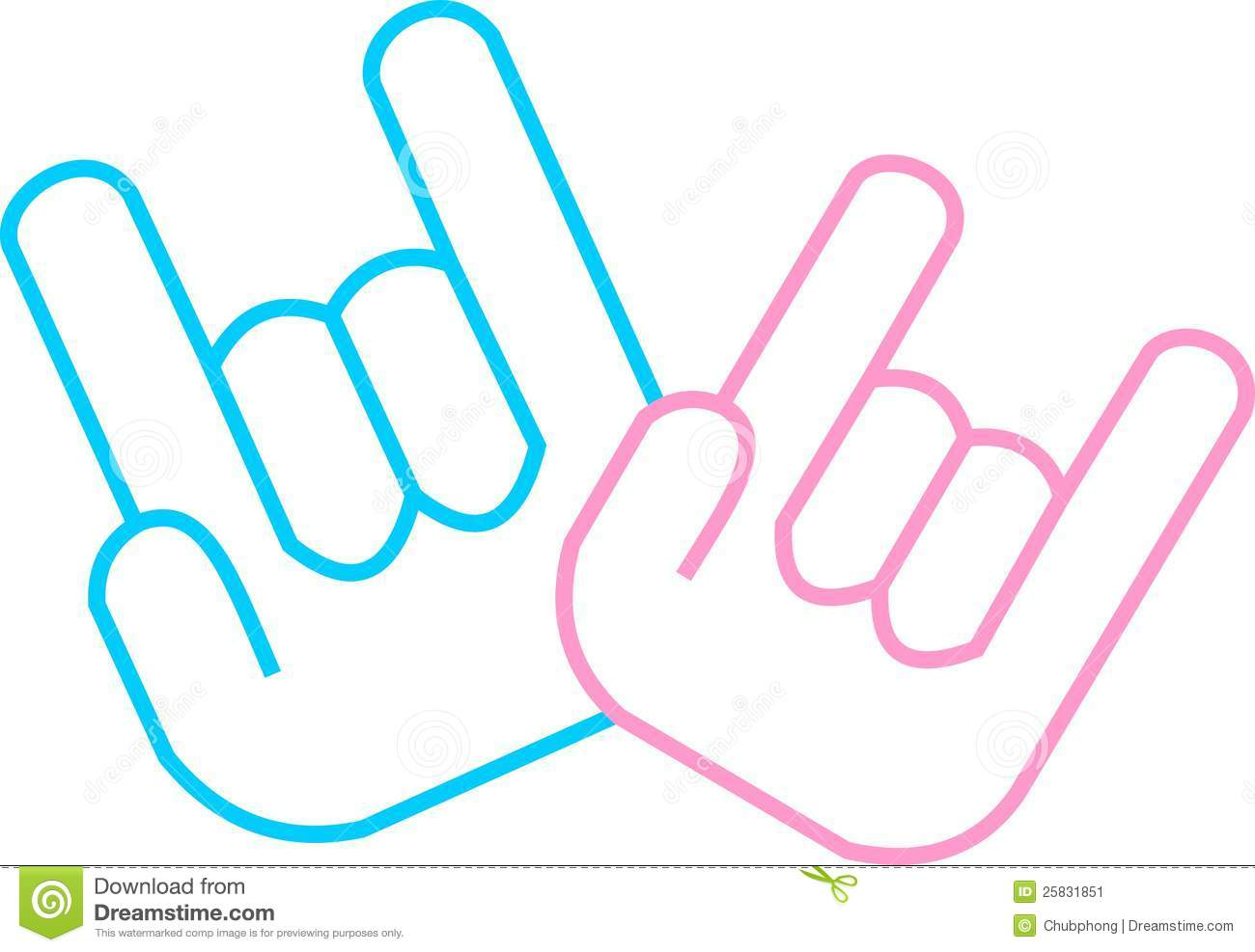 Hand Gesture clipart sign language i love you I love language I you