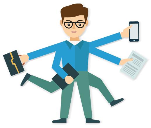 Hand Gesture clipart task management #3