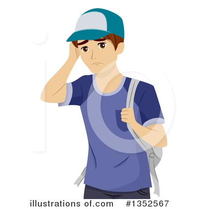 Hand Gesture clipart teenager boy Design #1352567 #1352567 Illustration Royalty