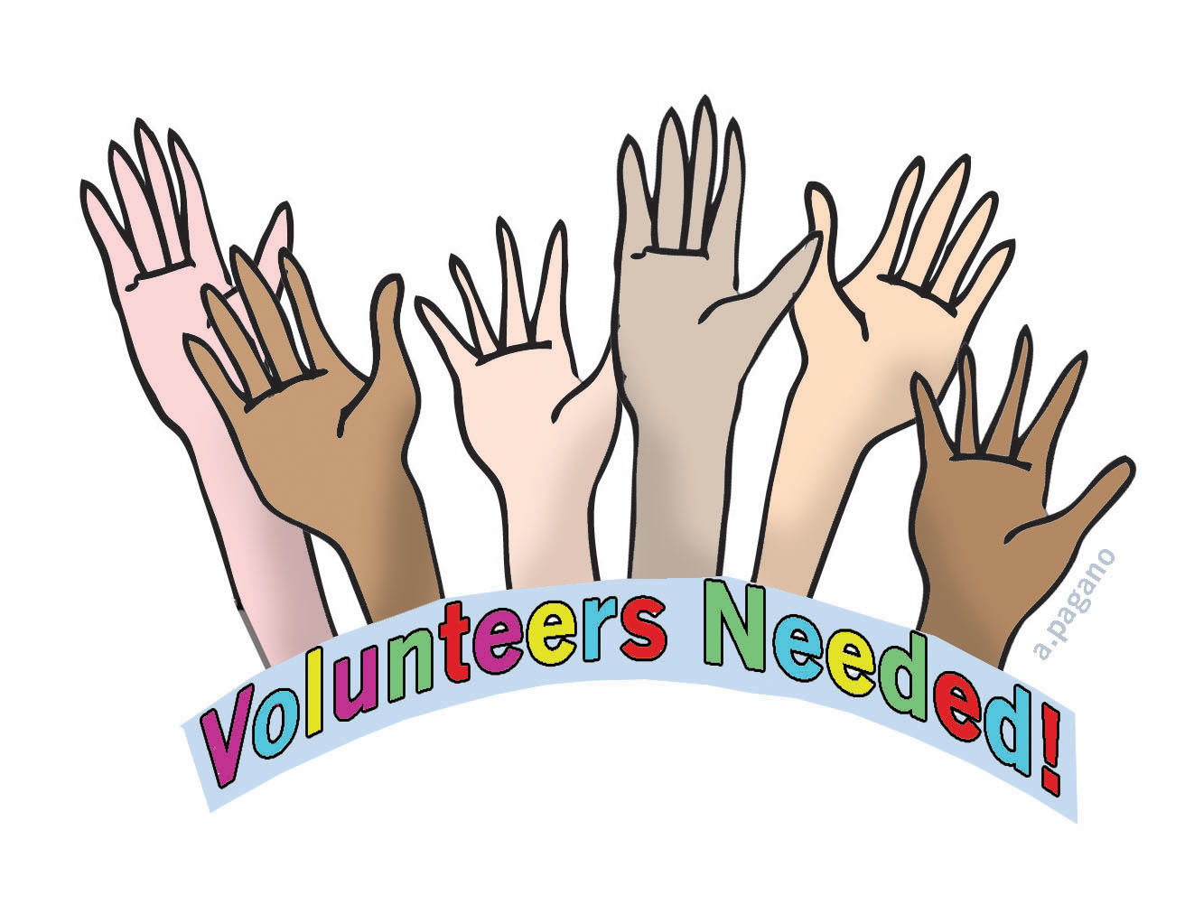 Hand Gesture clipart thank you You art Group Thank volunteer