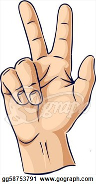 Hand Gesture clipart two Gesture clipart Clipart showing gesture