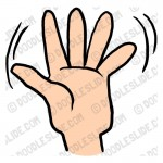 Hand Gesture clipart two Clipart clipart #150x150 gesture Gesture