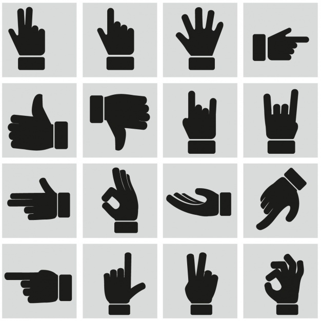 Hand Gesture clipart universal Hand Ajlouny 45 signs_1212 hand