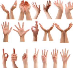 Hand Gesture clipart written communication Hostility OF on individuals with