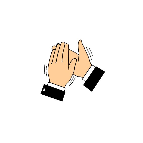 Hand Gesture clipart written communication Body Conscious Applause Different Language