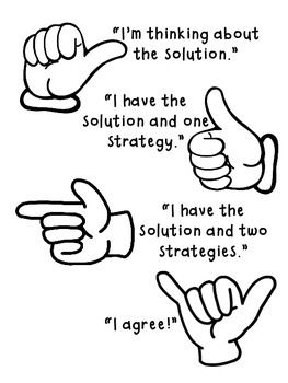 Hand Gesture clipart written communication Posters: on Pinterest Talks Number