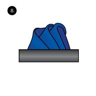 Handkerchief clipart folded Handkerchief Pinterest Fold Handkerchief on