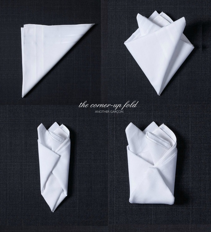 Handkerchief clipart folded Square Pinterest instructions Handkerchief on