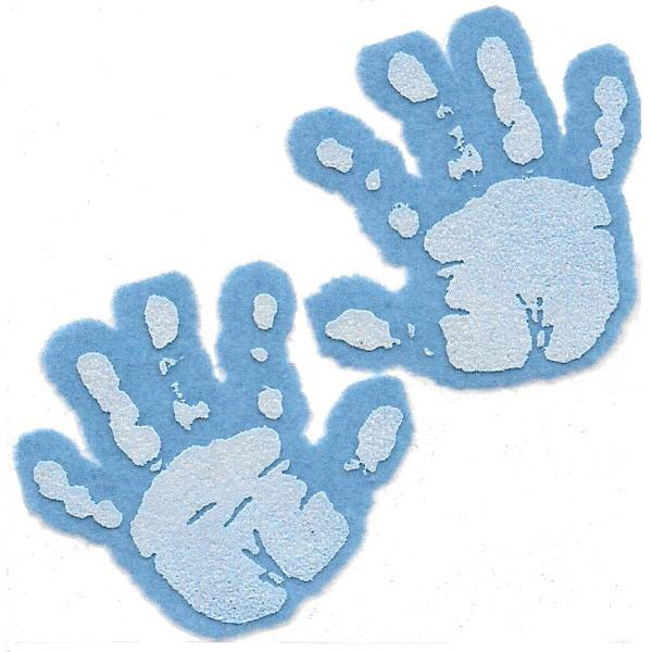 Handprint clipart baby boy Boy handprint Baby & Baby