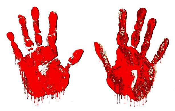 Handprint clipart blood Vectors Cliparts clipart Clipart Pie