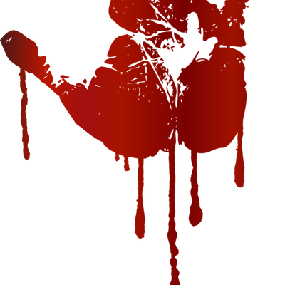 Handprint clipart bloody Blood/Bloody Polyvore Blood/Bloody Polyvore