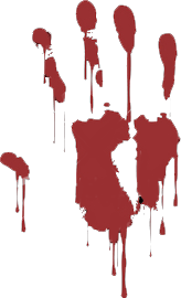 Handprint clipart bloody The Emo for Clipart handprint