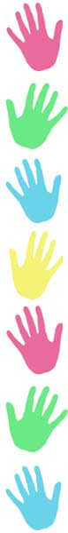 Handprint clipart boarder Clipart Print Hand Images Clipart