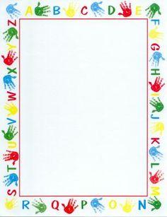 Handprint clipart boarder Handprints handprints Clip mind 55