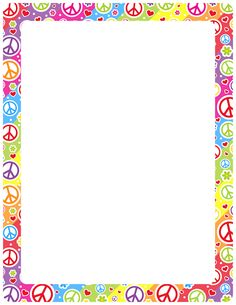 Handprint clipart boarder Find and and A Pin