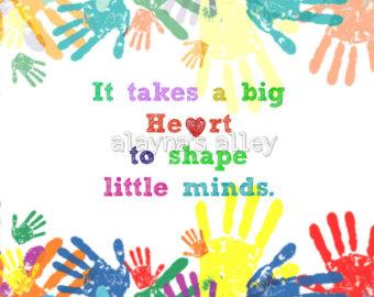 Handprint clipart childcare Digital Etsy 8x10 Handprint Handprint
