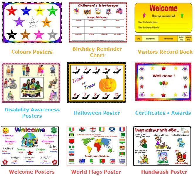 Handprint clipart childminder Best equality of images Day