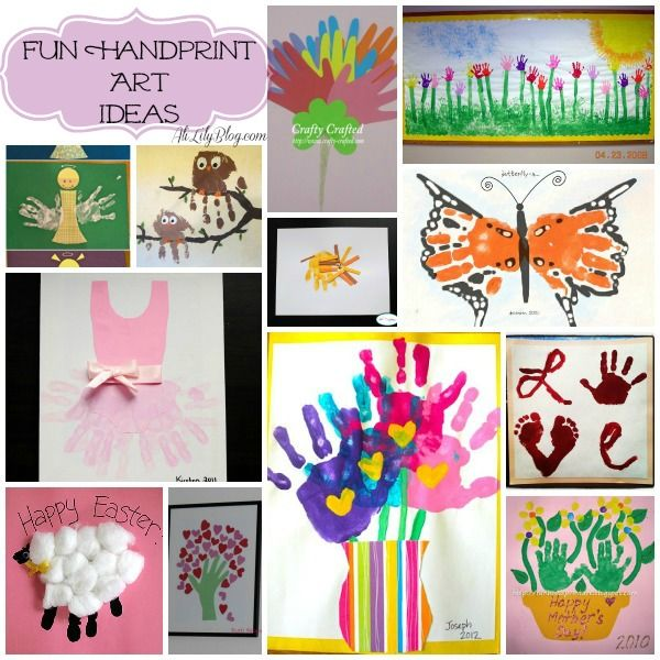 Handprint clipart daycare building Images handprint  Pinterest Kid's