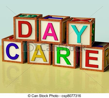 Handprint clipart daycare building  Care Spelling 6