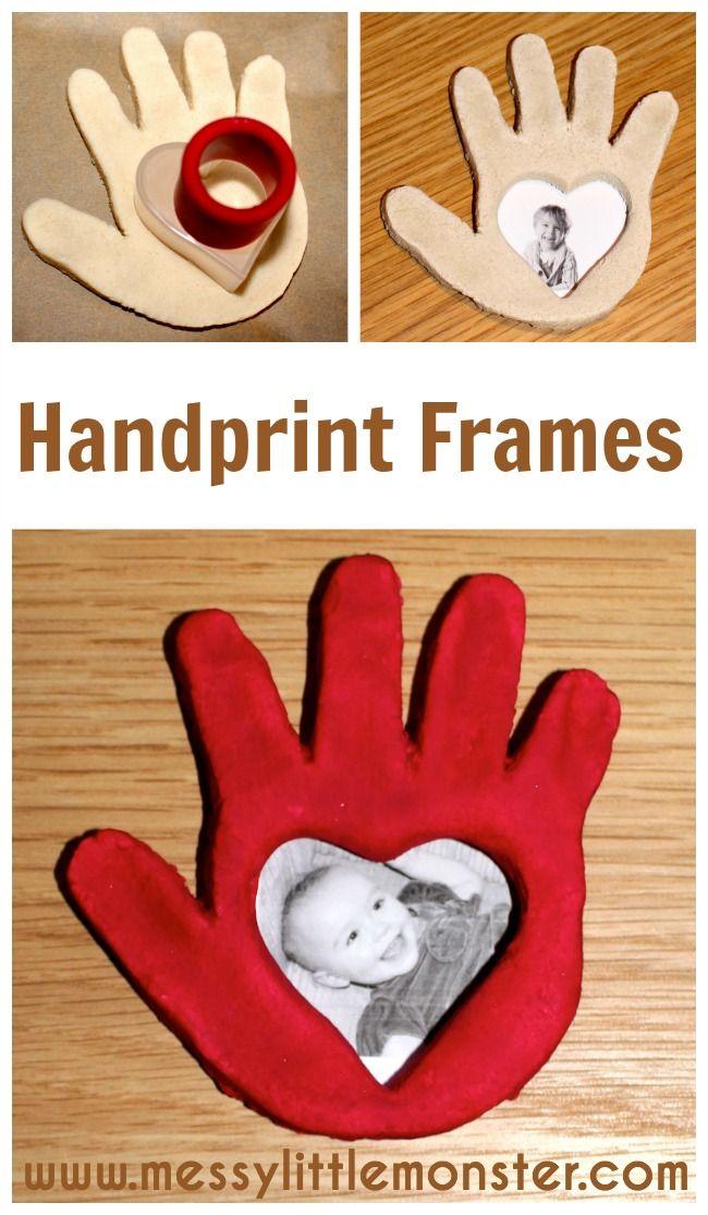 Handprint clipart eyfs Frame Handprint Keepsake Dough EYFS