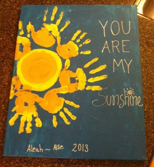 Handprint clipart family fun night Projects Crafts Summer on Kids
