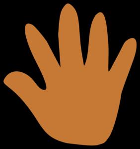 Handprint clipart gold Clipart In Touch Handprint Clipart