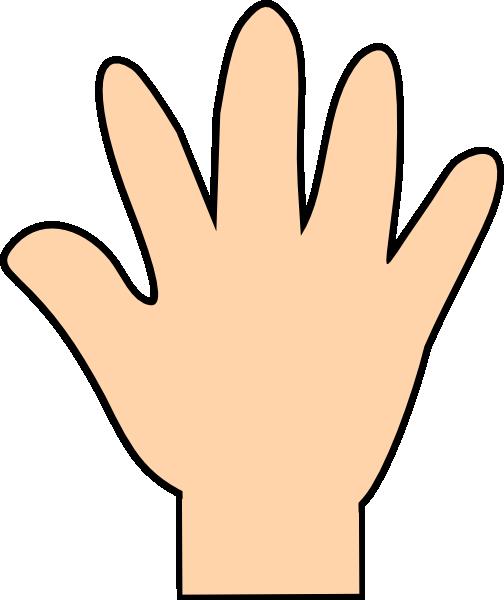 Handprint clipart gold Download clip  Print vector