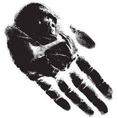 Handprint clipart gorilla Print Tattoo Hand Tattoos so