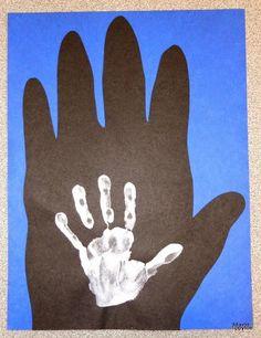 Handprint clipart gorilla Handprints gorilla Me Derby Crafts: