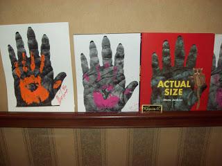 Handprint clipart gorilla Their hands Size A between