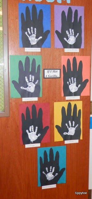 Handprint clipart gorilla Handprints 25+ Me on Crafts: