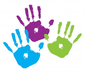 Handprint clipart hand painting Clipart hand Collection  Handprint