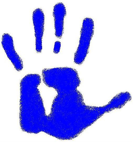 Handprint clipart hand painting Handprint JPG JPG File:Blue Wikipedia
