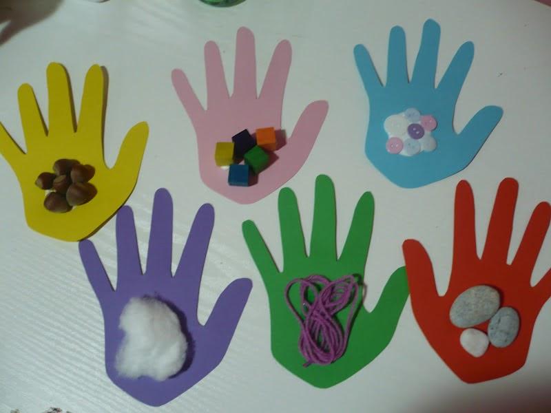 Handprint clipart hand touch Touch Kids*: Preschool Crafts for