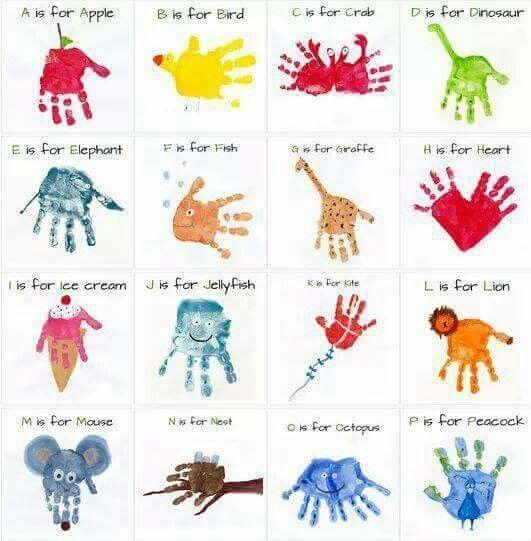 Handprint clipart hand touch Hand Crafts Handprint and Pinterest