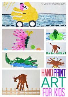 Handprint clipart hand touch Handprint the Print Hand Art