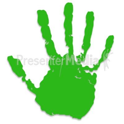 Handprint clipart hand touch Panda Clip Red Hand Print