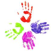 Handprint clipart handprint heart Clipart Panda Handprint Clipart Images