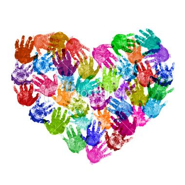 Handprint clipart handprint heart Pin on this images about