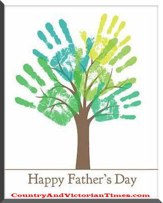 Handprint clipart handprint tree Handprint Tree Day Times Fathers