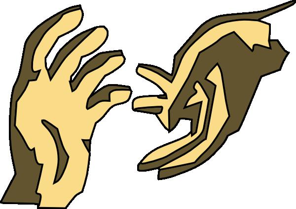 Handprint clipart helpful hand Art Helping Art and Clip