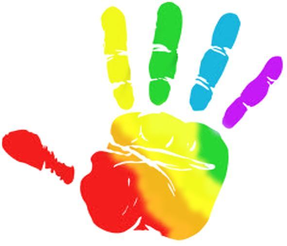 Handprint clipart helpful hand Images Hand Hand Hand 6354