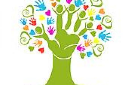 Handprint clipart helping hand Clipart Helping Hands Art Clip